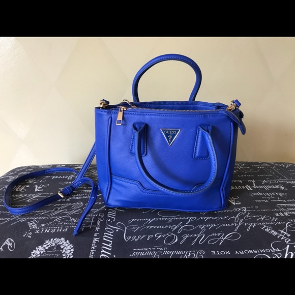 90a352ee Royal Blue Guess Purse